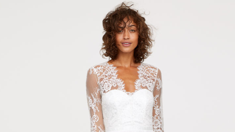 H&M Is Selling An Affordable Line Of Wedding Dresses