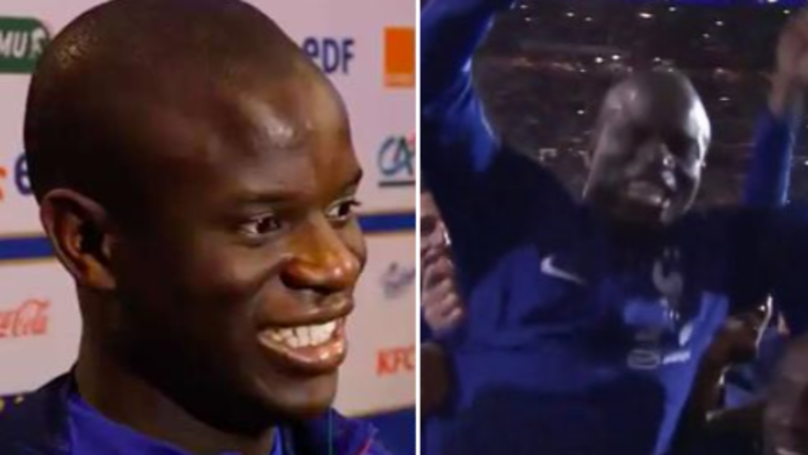 France Players Jokingly Call N'Golo Kante A 'Cheat', He Responds Brilliantly