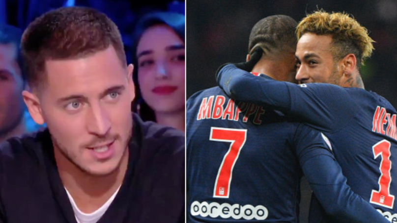 Chelsea's Eden Hazard Explains Why He'll Never Join Paris Saint-Germain