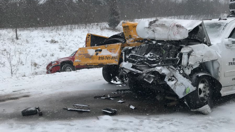 One Person Dead After Huge Pile-Up On Major American Highway