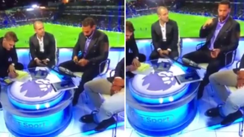 Rio Ferdinand Calls Kyle Walker 'A Liability' In Leaked BT Sport Footage