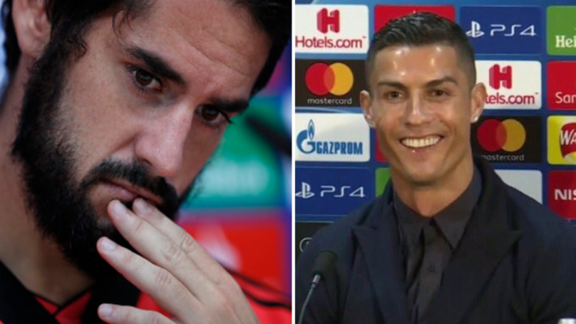 Cristiano Ronaldo Responds To Isco's Jibe At Real Madrid Missing Him