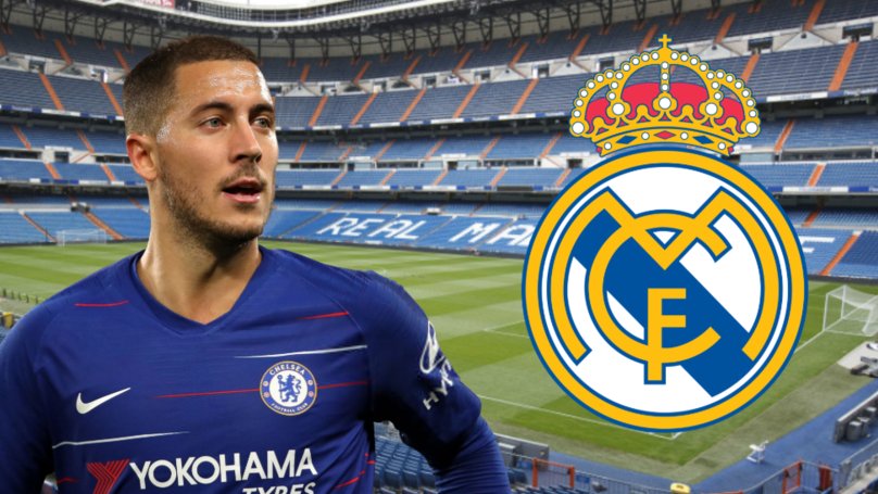 Chelsea Turn Down Real Madrid's 'Insufficient First Bid' For Eden Hazard