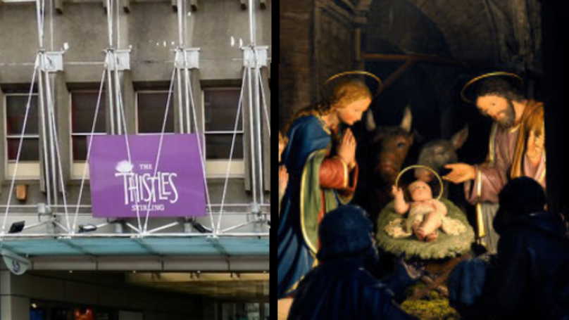 People Outraged After Nativity Scene Banned From Scottish Shopping Centre