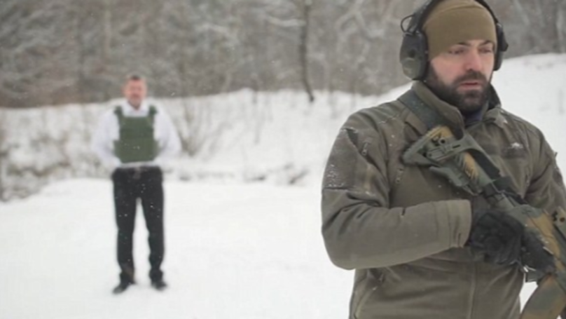 Boss Tests Outs His Company's Bulletproof Vest By Taking A Bullet