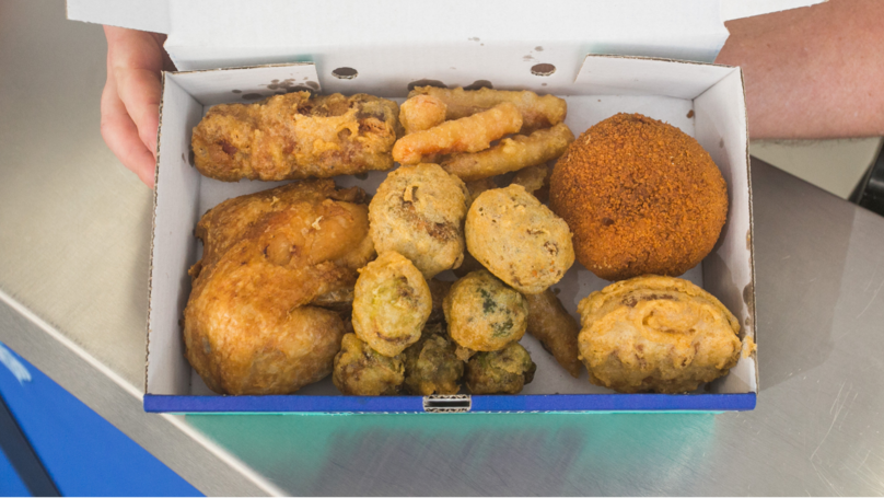 Fish And Chip Shop Is Selling Deep Fried Christmas Dinner