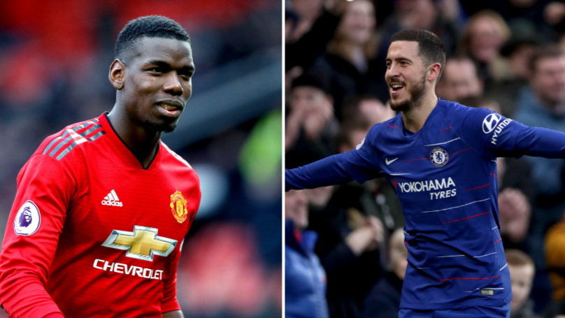 Real Madrid Confident They'll Sign Paul Pogba And Eden Hazard