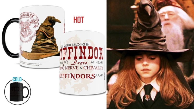 These Sorting Hat Mugs Reveal Your Hogwarts House When Filled With A Hot Drink