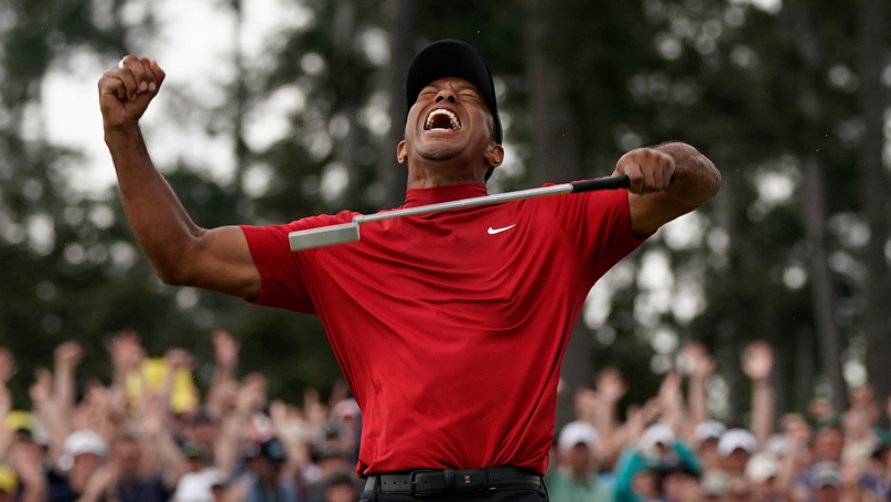 Punter Wins $1.2 Million From Tiger Woods Masters Bet