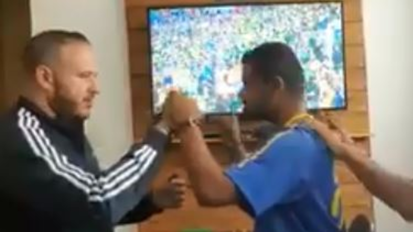 Deaf-Blind Brazil Supporter Experiences World Cup Goals In The Most Incredible Way