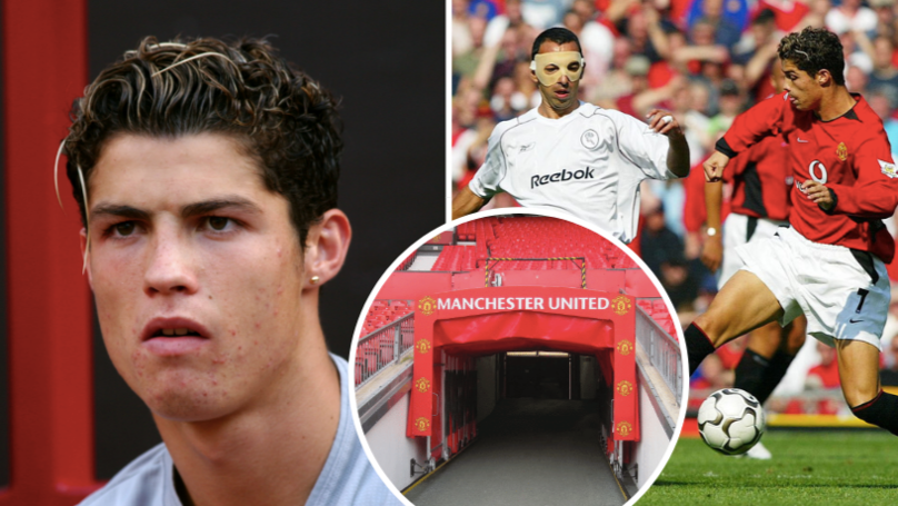 Cristiano Ronaldo Introduced Himself To Man Utd Dressing Room Before Debut In Typical Fashion