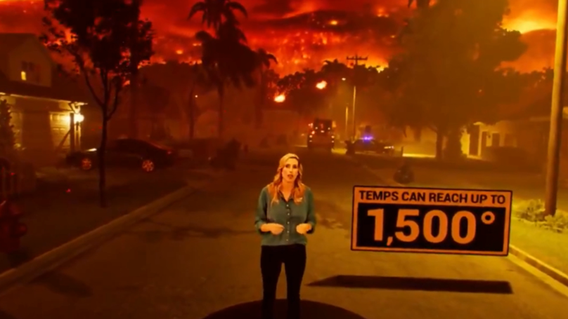 The Weather Channel Uses Amazing Simulation To Show The Effects Of A Wildfire