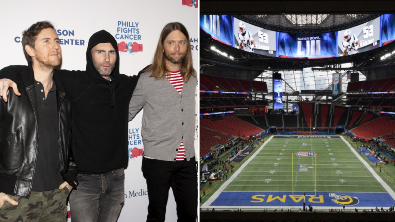 Maroon 5 Is Donating Their Entire $500,000 Super Bowl Fee To Charity
