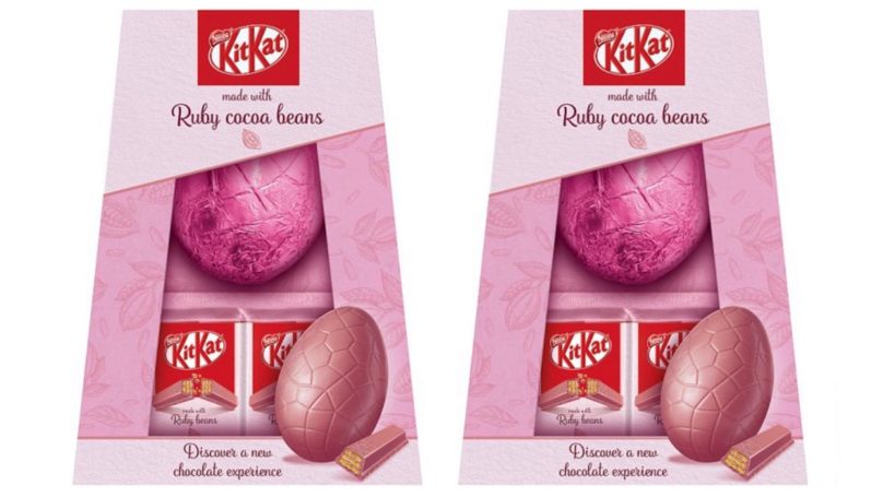 Pink KitKat Easter Eggs Created With Ruby Chocolate Now Exist