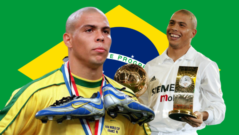 Ronaldo Luís Nazário De Lima Voted The Best Striker Of All Time