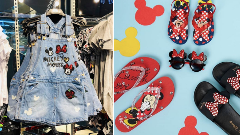 These Minnie And Micky Mouse Shorts Dungarees From Primark Are Too Cute