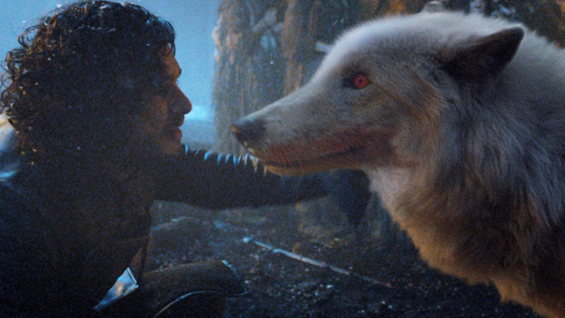 Game of Thrones Director Reveals Real Reason Jon Snow Didn't Pet Ghost Goodbye