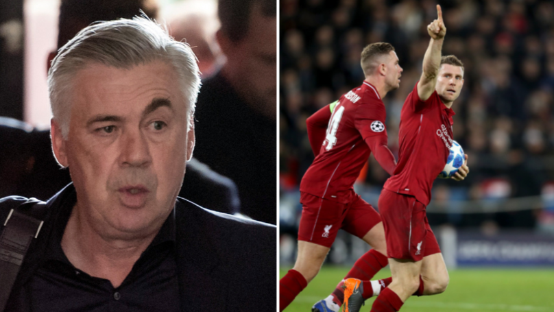 Carlo Ancelotti Claim Will Annoy Liverpool Fans Ahead Of Champions League Clash