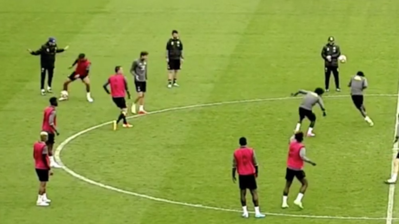 WATCH: John Terry Sends Victor Moses Flying With Ball To The Head In Training | SPORTbible