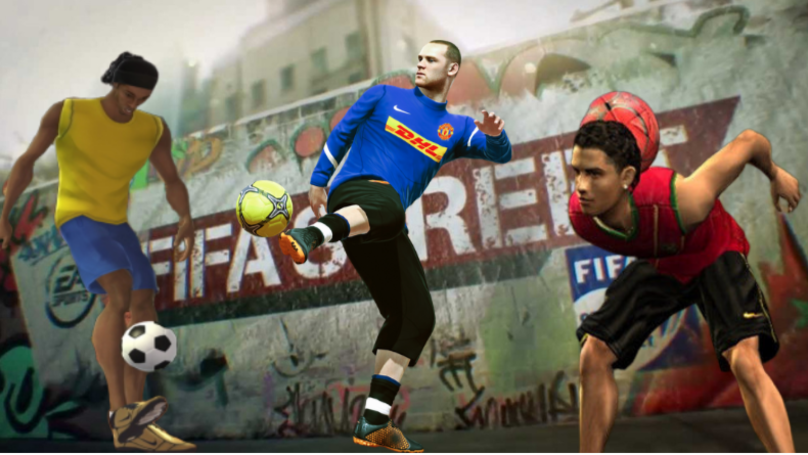 The Top 10 Players On The Original FIFA Street Game