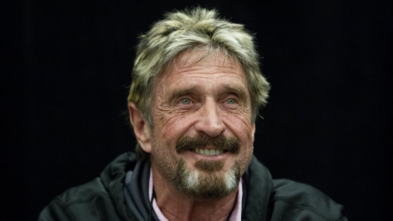 John McAfee Will Eat His D**k If Bitcoin Doesn't Hit $1,000,000 By 2020