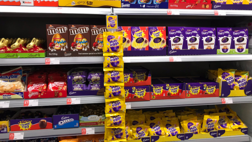 Shops Have Easter Eggs On Shelves Already