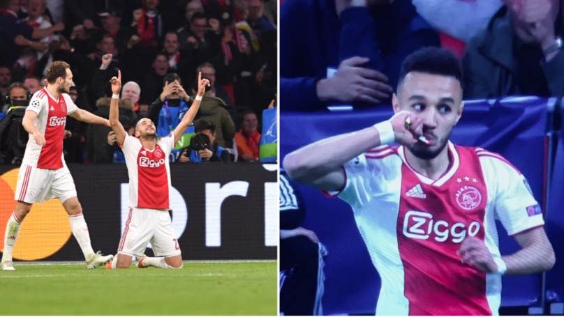 ​Hakim Ziyech​ and Noussair Mazraoui Fasted For Ramadan During Ajax's Champions League Match
