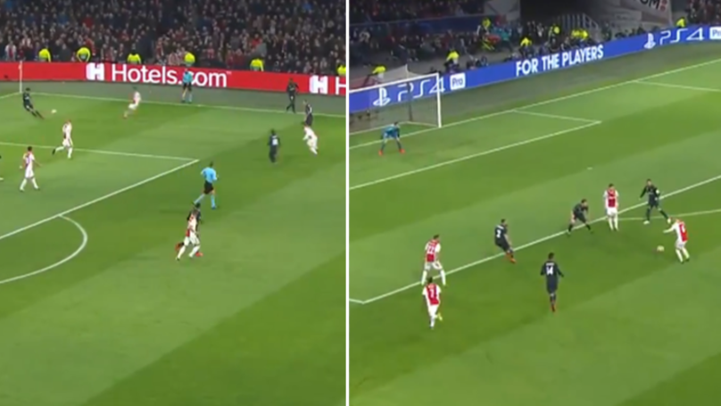 Insane Clip Proves Ajax Are The Masters Of High Pressing Football