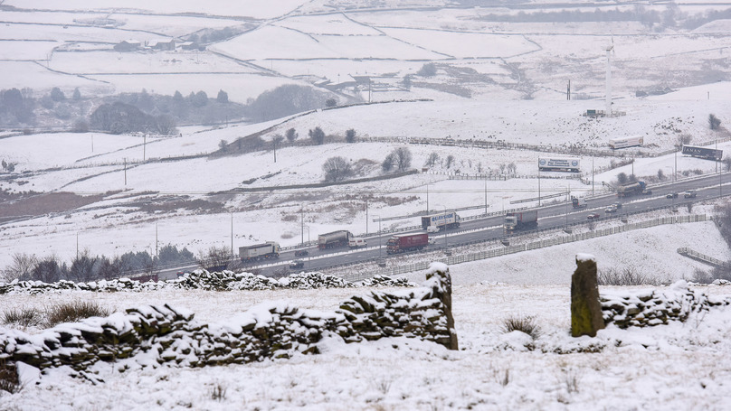 'Yellow Snow Warnings' Issued For Parts Of The UK