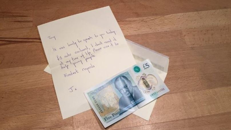 Irish Woman Finds Fiver Worth £50,000, Only Goes And Gives It To Charity