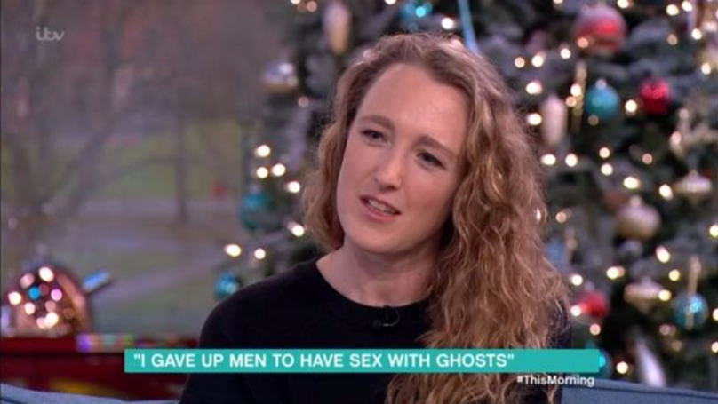 ​Woman Tells Phil And Holly She's Given Up Men To Have Sex With Ghosts