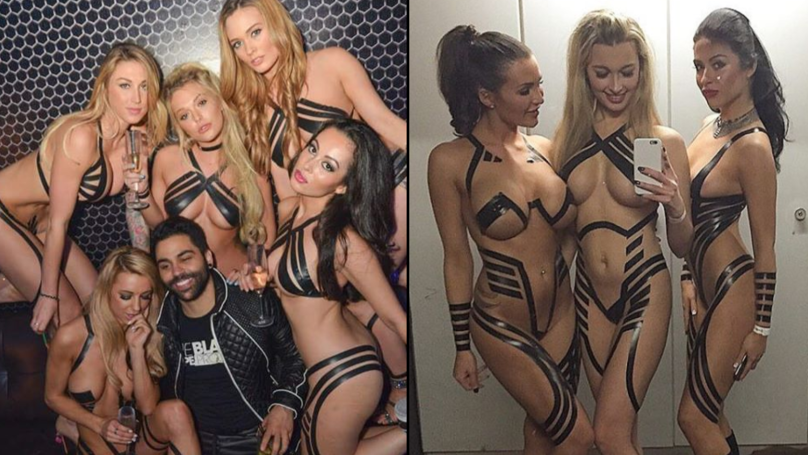 4cf8823a5c Girls Are Going Out Clubbing In Nothing But Duct Tape - LADbible