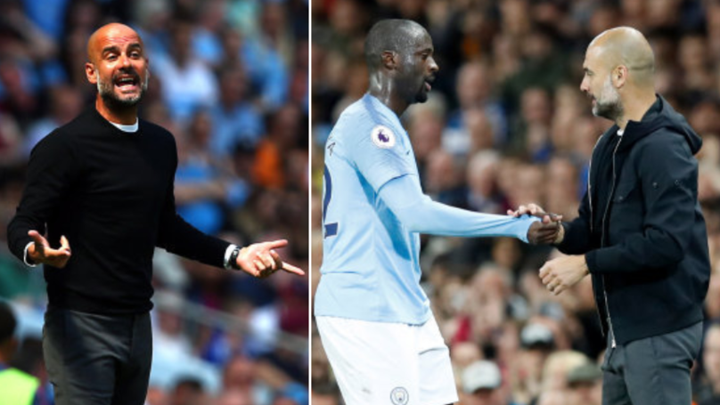 Pep Guardiola Finally Responds To Yaya Toure's Racist Allegations
