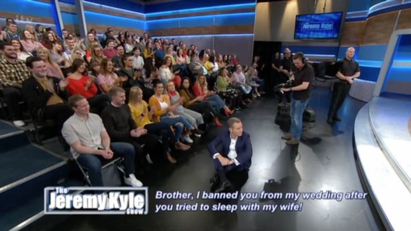 Jeremy Kyle Left Speechless After Insult From Guest