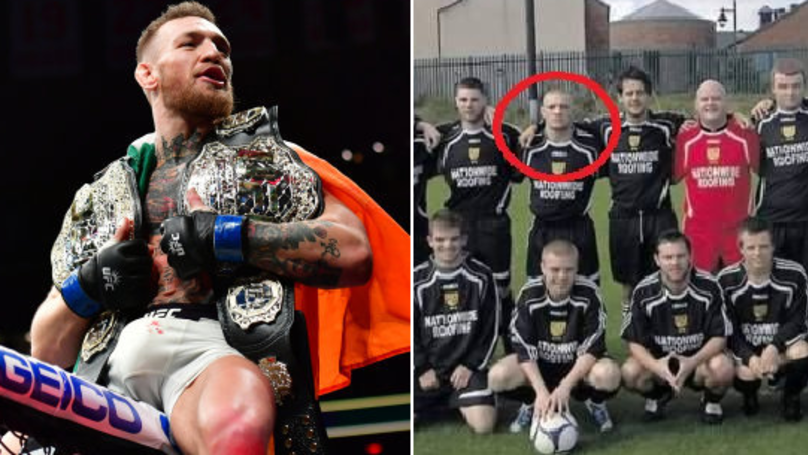 Striker To Striking: 'Goal Machine' Conor McGregor's Sunday League Roots