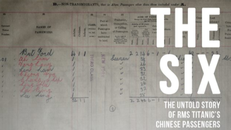 New Documentary Shares The Story Of 'Forgotten' Chinese Survivors Of Titanic