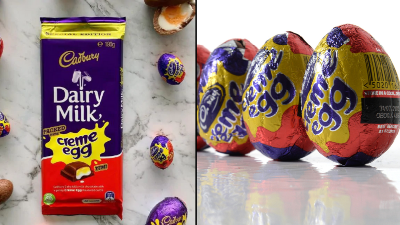 Cadbury Unveils A Creme Egg Block Of Chocolate