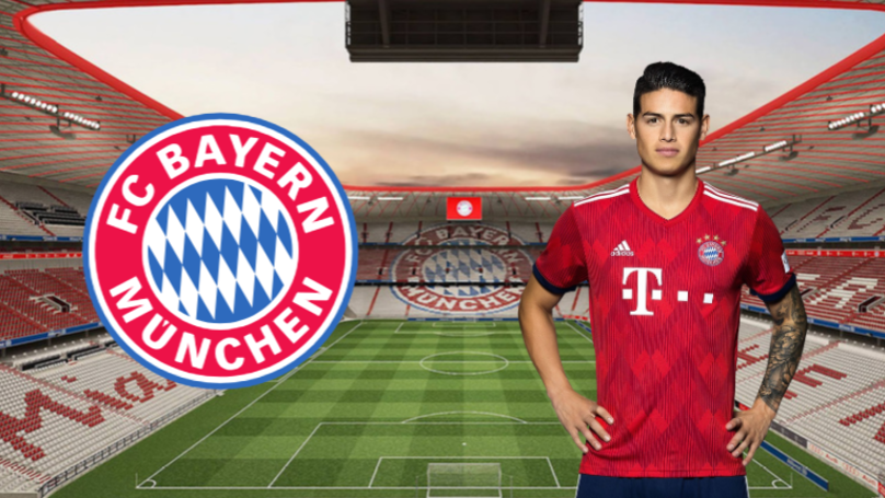 James Rodriguez Rejects Any Move Away From Bayern Munich