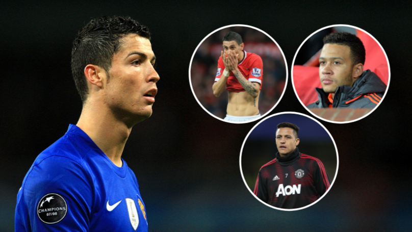 Manchester United's Number 7s Since Cristiano Ronaldo Have Scored Just 15 League Goals