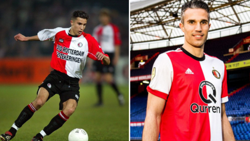 Robin van Persie's Footballing Evolution Is Complete With New Position
