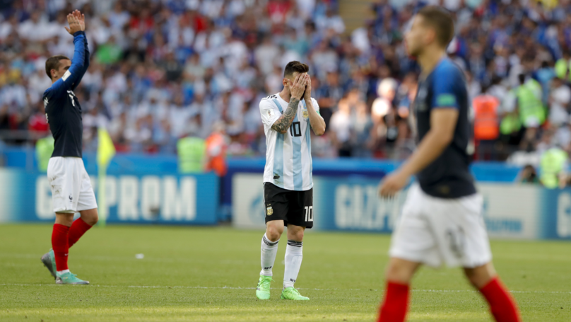 Argentina Are Out Of The World Cup After Defeat By France