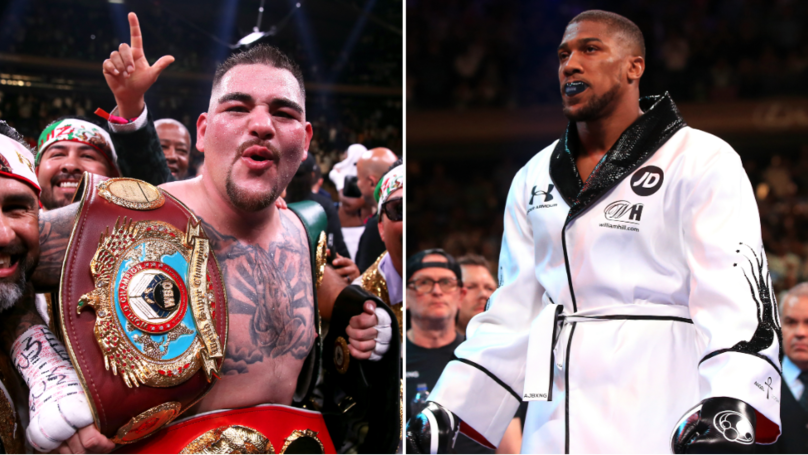 Andy Ruiz Jr Says Anthony Joshua Rematch Will Not Be In The UK