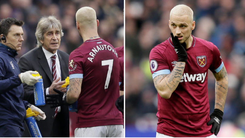 What Marko Arnautovic Did When Substituted Suggests He's Off