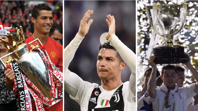 Cristiano Ronaldo Becomes First Player In History To Win Premier League, La Liga And Serie A