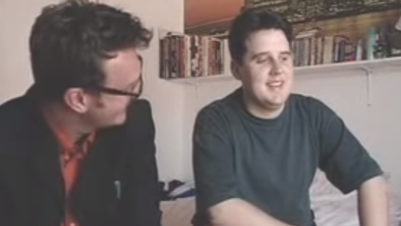 Peter Kay When He Was 23-Years-Old Trying To Break Into Comedy