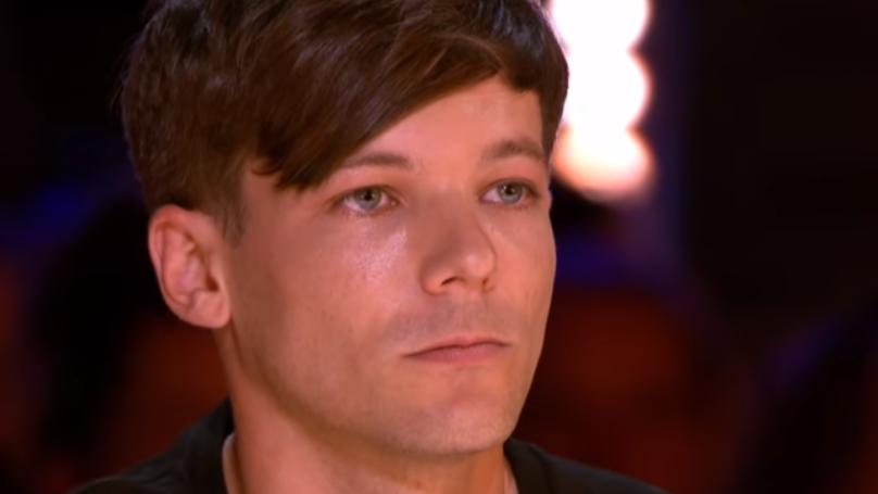 Louis Tomlinson Fights Back Tears As Anthony Russell Returns To X Factor