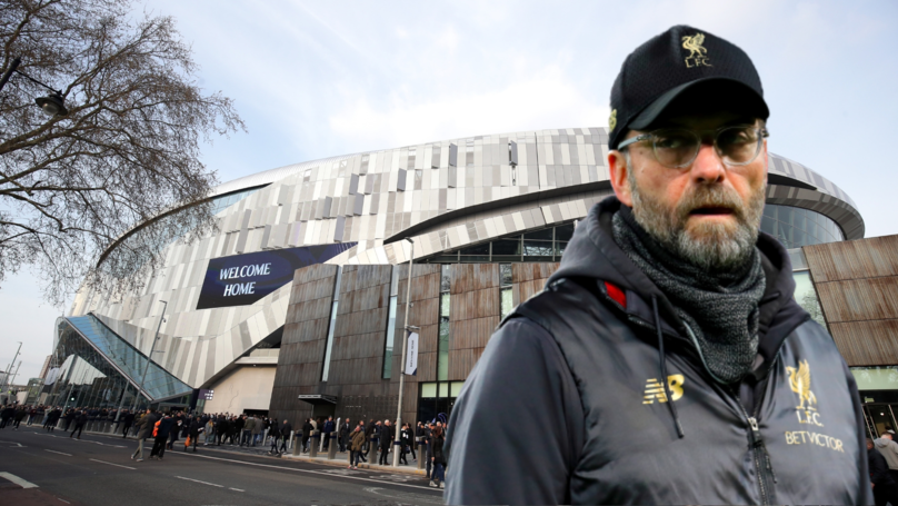 Liverpool Want To Play A Friendly Match At Spurs' New Stadium Against Napoli