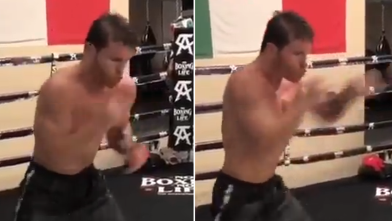 'Canelo' Shows Off His Blistering Hand Speed Ahead Of Gennady Golovkin Rematch