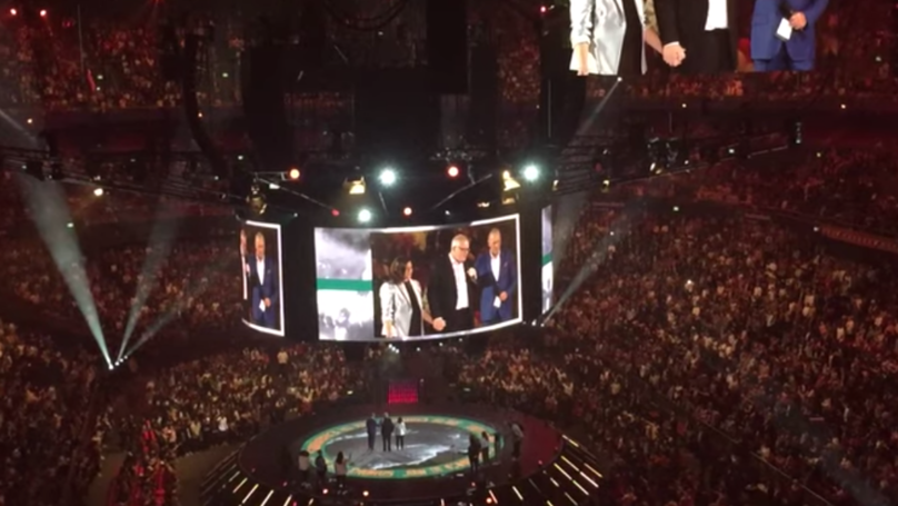 Scott Morrison Urges People To Pray For Australia During Hillsong Event