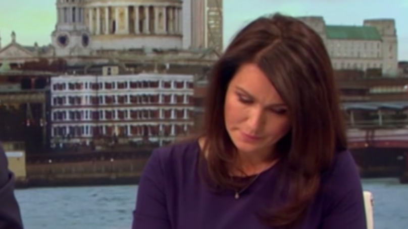 GMB Host Susanna Reid Breaks Down While Talking To Mum Of Missing Manchester Girl